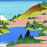 Top Quality Art - Mt,fuji36view-soshu Hakone Kosui Art Print