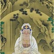 Top Quality Art - White Robed Kannon Art Print