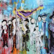 Torah Dedication Alexandria 2 201905 Art Print