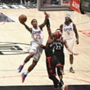 Toronto Raptors V Los Angeles Clippers Art Print