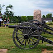 Touring The Gettysburg Battlefield Art Print