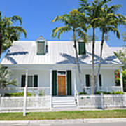 Townhouse In Key West Florida Art Print