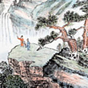 Traditional Chinese Painting , Landscape Art Print