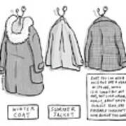 Trans-seasonal Coat Art Print