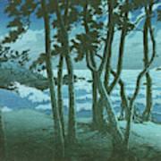 Travel souvenir third collection, Izumo, Hinomisaki - Digital Remastered Edition Art Print