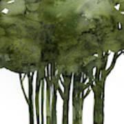 Tree Impressions 1b Art Print