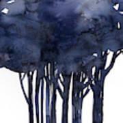 Tree Impressions 1f Art Print