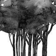 Tree Impressions 1l Art Print