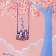 Tree Swing 3 Art Print