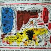 Tribute To Basquiat, Philosophy, And Activism Art Print