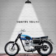 Triumph Trophy Tr6 Art Print