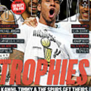 Trophies: Kawhi, Timmy & The Spurs Get Theirs SLAM Cover Art Print