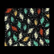 Tropical Design Pattern Art Print
