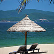 Tropical Holidays On Nha Trang Beach Art Print