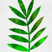 Tropical Leaf 3 Art Print