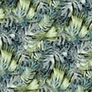 Tropical Leaves I Art Print