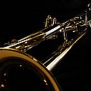 Trumpet In Perspective Art Print