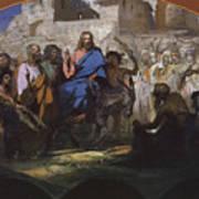 Try Of Christ Into Jerusalem, 1876 Art Print