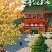 TSURUOKAHACHIMANGU - Top Quality Image Edition Art Print