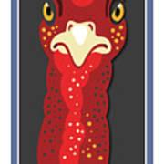 Turkey Stare Jp Art Print