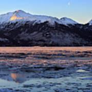 Turnagain Arm At Dawn Alaska Art Print