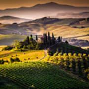 Tuscany, Italy - Landscape Art Print