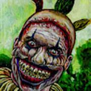 Twisty The Clown Art Print