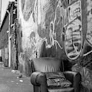 U Street Chair Washington Dc Art Print