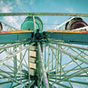 Under The Ferris Wheel Art Print