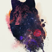 Universal Wolf Art Print