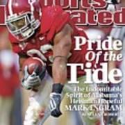 University Of Alabama Mark Ingram Sports Illustrated Cover Art Print