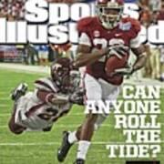 University Of Alabama Vs Virginia Tech, 2013 Chick-fil-a Sports Illustrated Cover Art Print