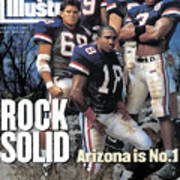 University Of Arizona, 1994 College Football Preview Issue Sports Illustrated Cover Art Print