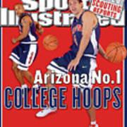University Of Arizona Luke Walton And Jason Gardner Sports Illustrated Cover Art Print
