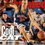 University Of Arizona Miles Simon, 1997 Ncaa National Sports Illustrated Cover Art Print