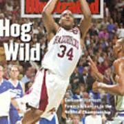 University Of Arkansas Corliss Williamson, 1994 Ncaa Sports Illustrated Cover Art Print