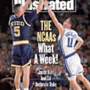 University Of California Jason Kidd, 1993 Ncaa Midwest Sports Illustrated Cover Art Print