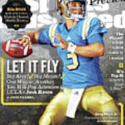 University Of California Los Angeles Josh Rosen, 2016 Sports Illustrated Cover Art Print