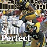 University Of Iowa Derrell Johnson-koulianos Sports Illustrated Cover Art Print