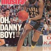 University Of Kansas Danny Manning, 1988 Ncaa National Sports Illustrated Cover Art Print