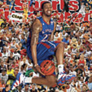 University Of Kansas Marcus Morris, 2011 March Madness Sports Illustrated Cover Art Print