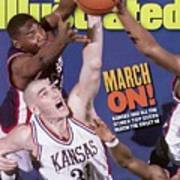 University Of Kansas Scot Pollard, 1997 Ncaa Southeast Sports Illustrated Cover Art Print