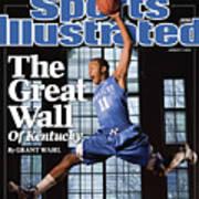 University Of Kentucky John Wall Sports Illustrated Cover Art Print