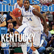 University Of Kentucky Michael Kidd-gilchrist, 2012 Ncaa Sports Illustrated Cover Art Print