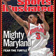 University Of Maryland Juan Dixon, 2002 Ncaa National Sports Illustrated Cover Art Print