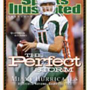 University Of Miami Qb Ken Dorsey, 2001 Ncaa National Sports Illustrated Cover Art Print