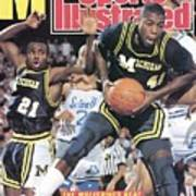 University Of Michigan Glen Rice, 1989 Ncaa National Sports Illustrated Cover Art Print