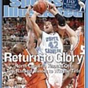 University Of North Carolina Sean May, 2005 Ncaa National Sports Illustrated Cover Art Print