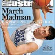 University Of North Carolina Tyler Hansbrough Sports Illustrated Cover Art Print