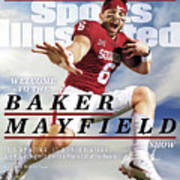 University Of Oklahoma Baker Mayfield Sports Illustrated Cover Art Print